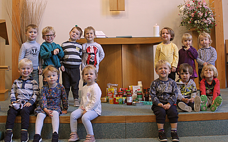 Broadstone Christian Nursery Harvest Festival photo